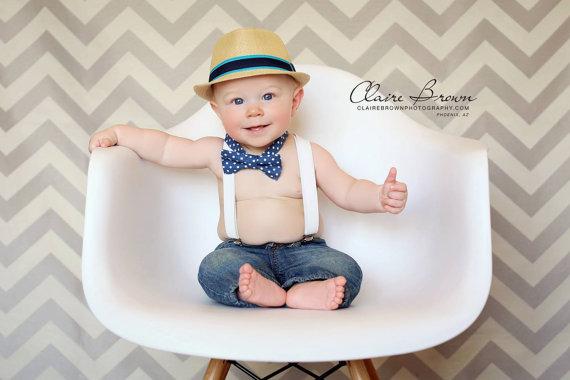 زفاف - Bow Tie Suspenders Set..Baby Clothing..Kids Bow Tie Suspenders..Ring Bearer..Baby boy suspenders..Kids bow tie set..1st birthday bow tie set