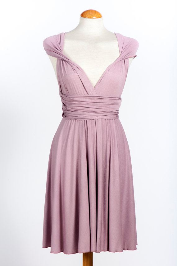 Bridesmaid Infinity Dress