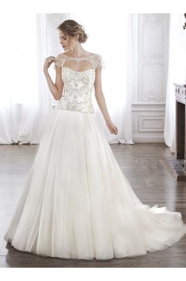 Mariage - Maggie Sottero Bridal Gown Ashton, Ashton Marie / 5MS128LU