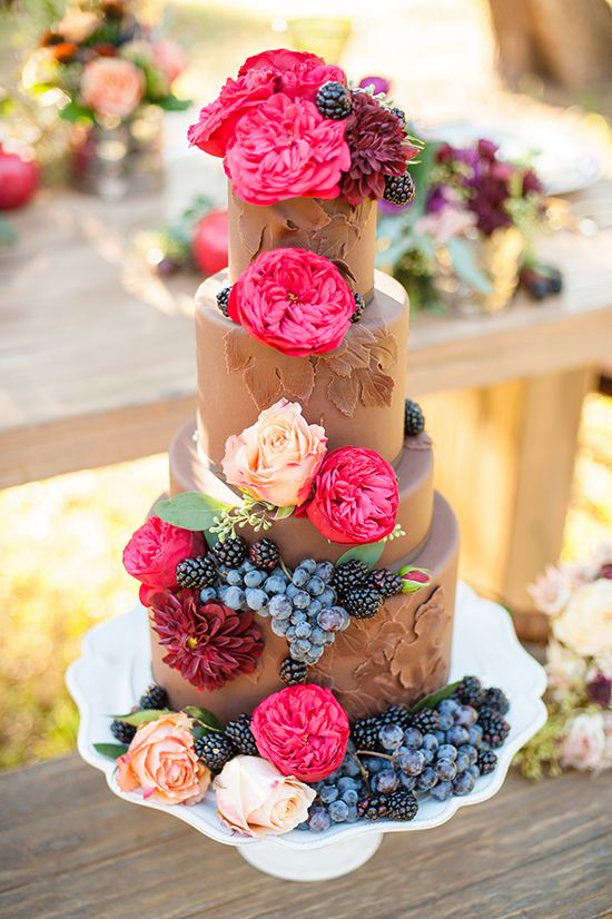 Свадьба - Fruitful Fall Wedding Ideas