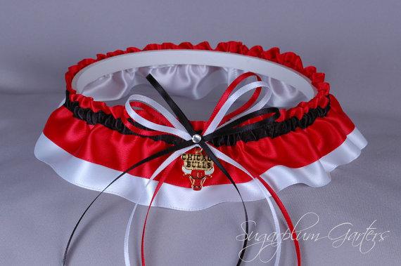 Свадьба - Chicago Bulls Wedding Garter