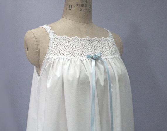 Plus Size Sleep Gown Cotton Four Poster Style Womens Petite Tall