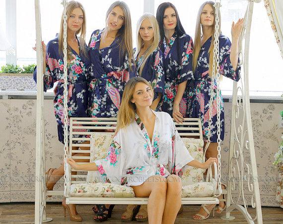 robes bridesmaid robe bridesmaid gift bridesmaid robes bridal