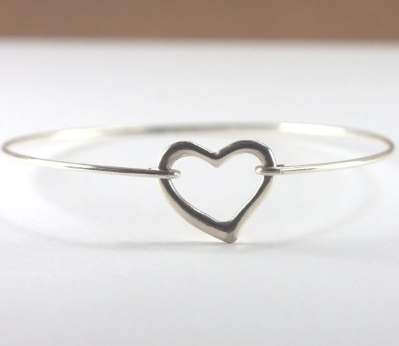 silver bangles heart aghalo stone sterling claddagh bangle green with bracelet