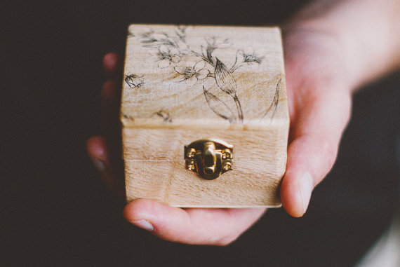 Wedding Ring Gift Box : ... ring box