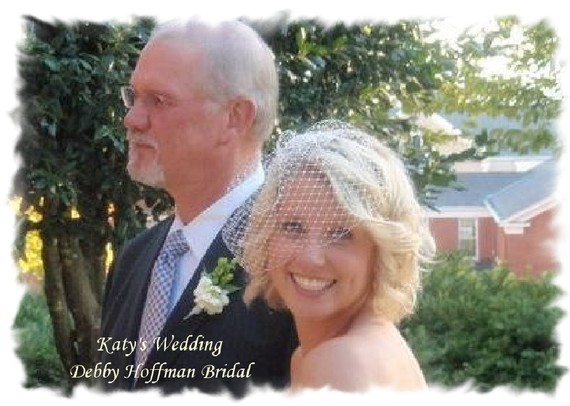 Mariage - Wedding Veil, Birdcage Veil, Blusher Wedding Veil, Birdcage Blusher Bridal Veil, No. 401, Wedding Hair Accessories, Small Birdcage Veil