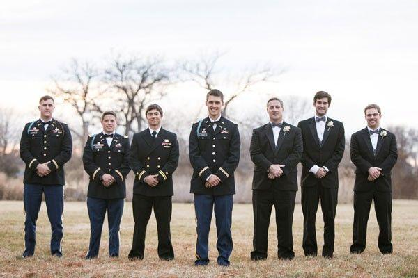 Hochzeit - Doug And Molly's St. Louis, Missouri Military Wedding By Ashley Fisher Photography