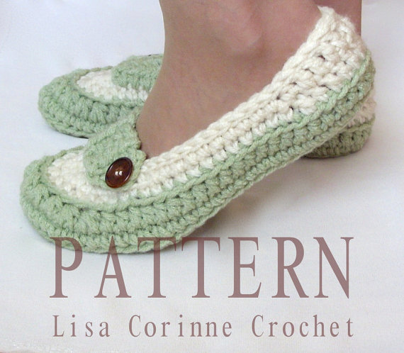 Bridal Slippers Crochet Pattern Wedding Slippers Pattern Dancing
