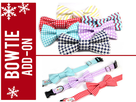 Свадьба - Dog Bow Tie, Removable Bow Tie for Dogs - Wedding Bow tie, Formal Events - You choose the pattern and size
