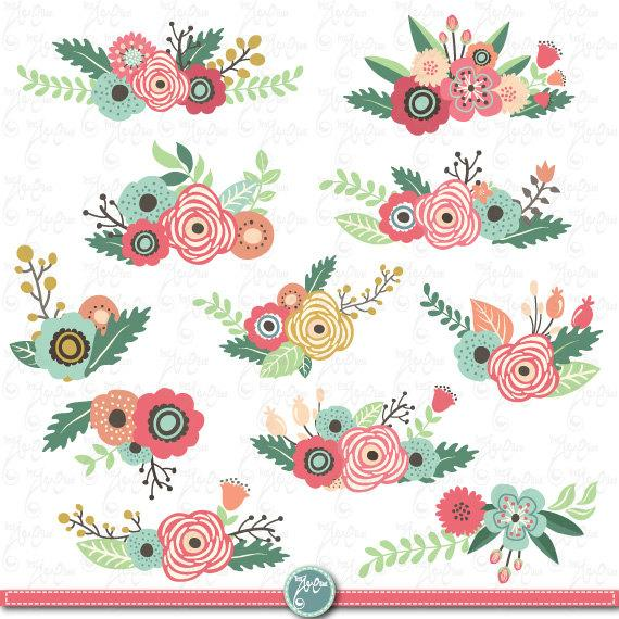 Flowers clipart pack flower clip art packvintage flowersspring flowers clipart pack flower clip art packvintage flowersspring flowerweding flowerflorawedding invitation wd073 mightylinksfo Choice Image