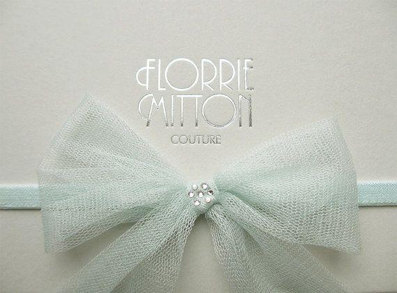 Mariage - Promise Silk Bow Garter