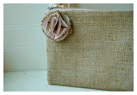 Mariage - set of eleven, 11 Burlap Gift Idea, Bridesmaid Clutch, Wedding, Clutch Bridesmaid Gift, Wedding Party, Country Wedding