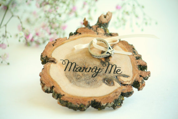 Marry Me Ring Pillow