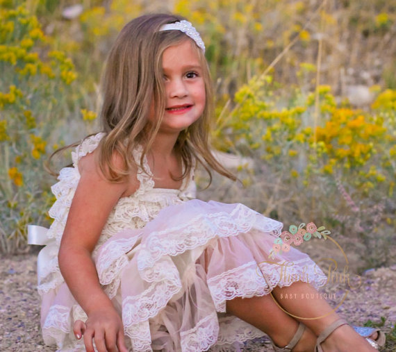 Свадьба - flower girl dress - baptims dress