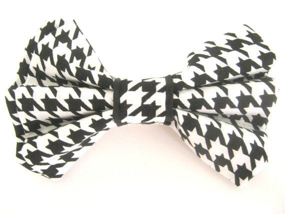 Свадьба - Dog Bow Tie   Black And White Dog Bow Tie  Bow Tie For Dog  Collar Bow Tie  Large Dog Bow   Pet Bow tie  Dog Collar Bowtie  Wedding Dog Bow
