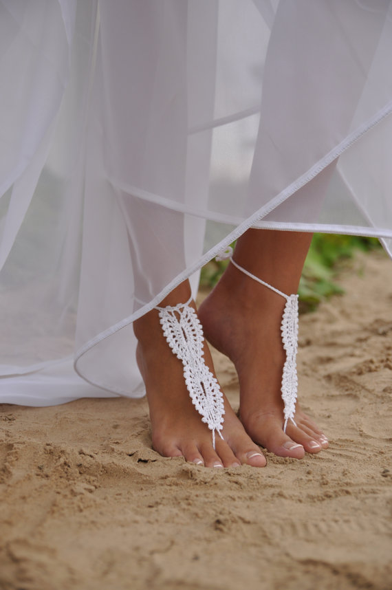 hippy item in omeng rope jewelry sandal crochet yoga beach handmade from barefoot boho anklets wear sexy anklet wedding sandals