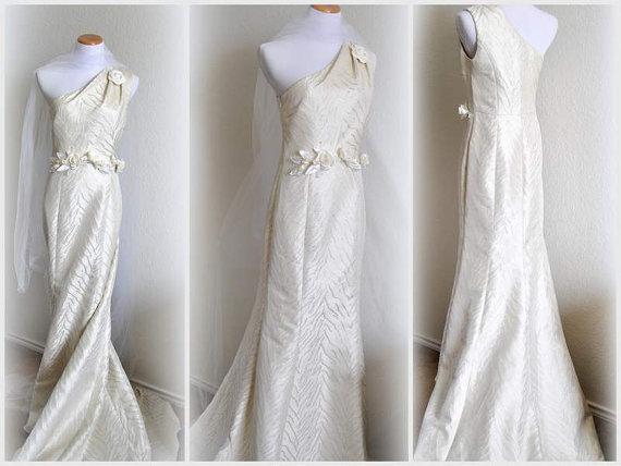 Grecian Wedding Dress Bridal Gown Floral Evening Dress Embellished ...