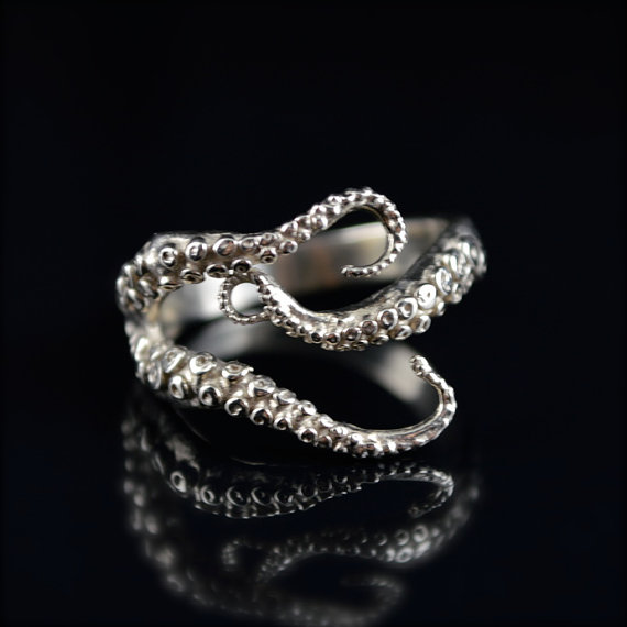 Tentacle Engagement Ring