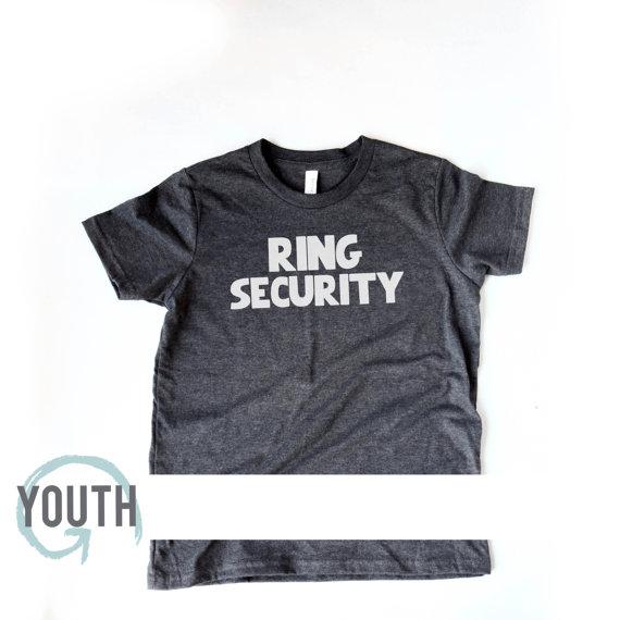 زفاف - YOUTH Ring Security Soft Tshirt