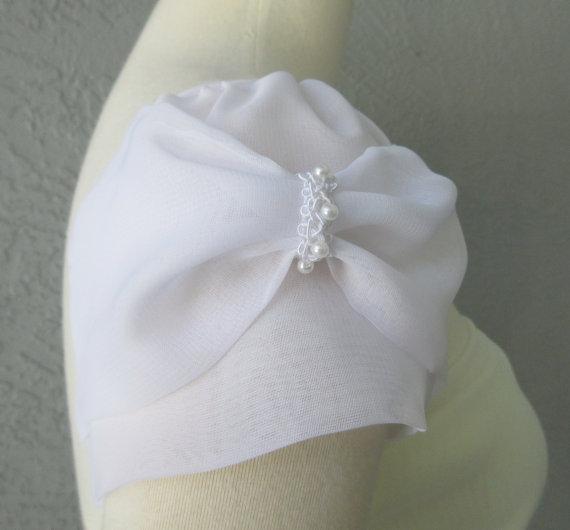 زفاف - Detachable Ivory or White Chiffon fabric Cap Sleeves to Add to your Wedding Dress it Can be Customize