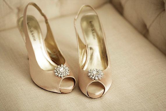 Hochzeit - Jeweled Shoe Clips