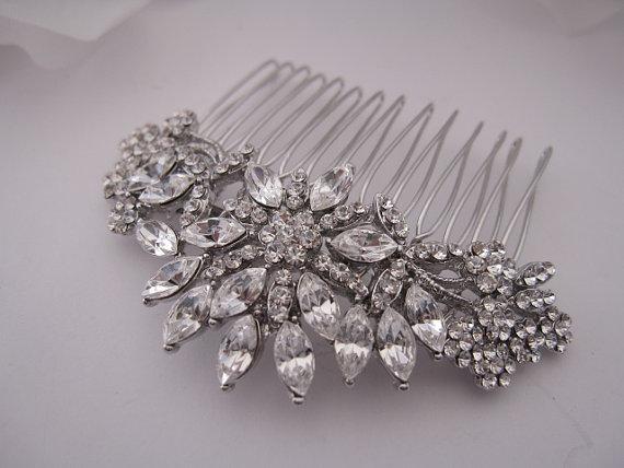 Свадьба - wedding hair piece,bridal hair piece,wedding hair accessories,bridal comb hair,bridal hair comb,wedding comb,wedding hair comb,crystal hair
