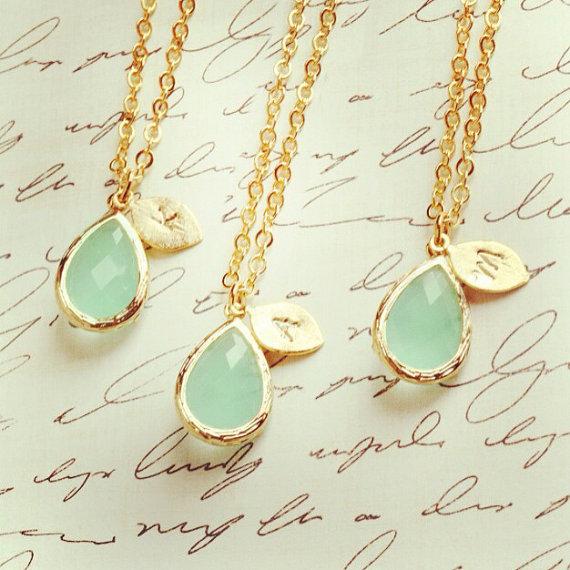 زفاف - Initial Necklace Personalized Jewelry Personalized Necklace Pendant Bridesmaid Gift Bridesmaid Jewelry Necklace Limonbijoux Gift