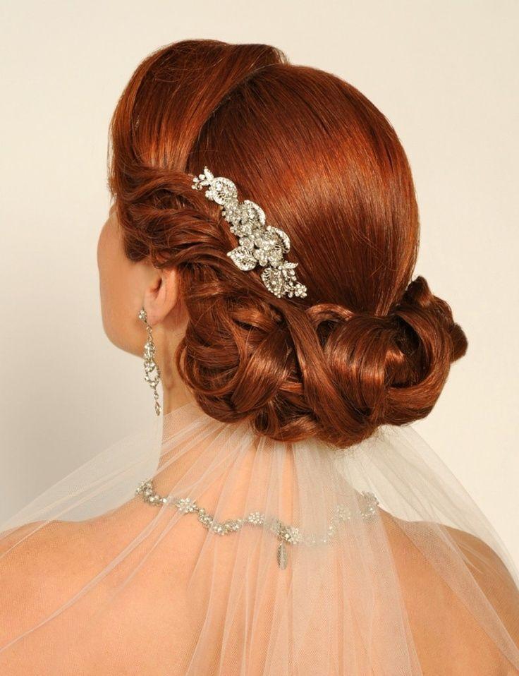 Hochzeit - Weddings! Gorgeous Hairdos