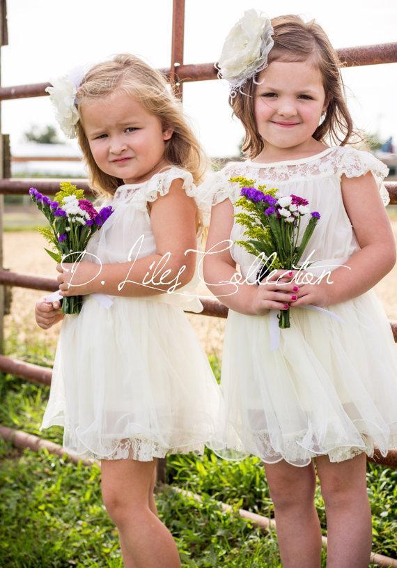 Wedding - The Original Charlotte  - Ivory -  Lace