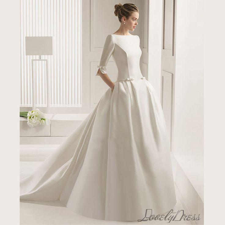 Custom Wedding Dress,contracted Classic Wedding Dress