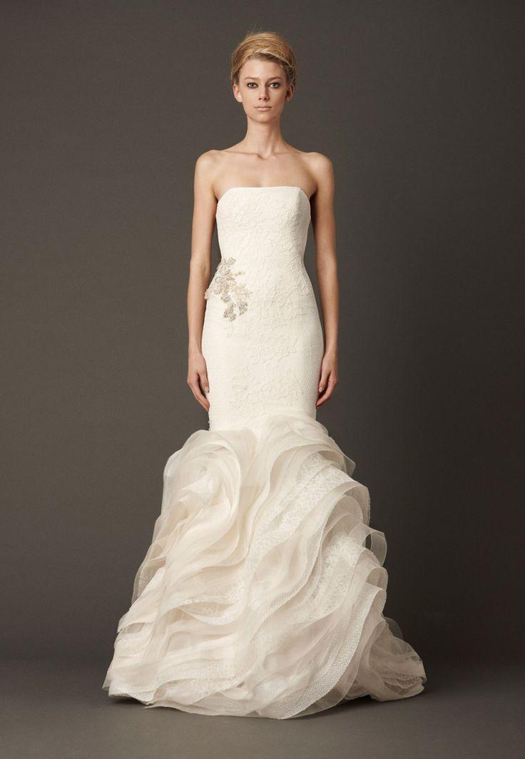 زفاف - Strapless Wedding Dress Inspiration