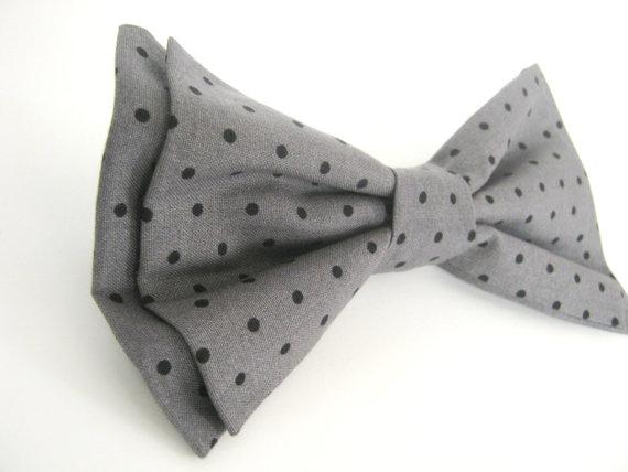 Свадьба - Dog Bow Tie   Gray Dog Bow Tie  Bow Tie For Dog  Collar Bow Tie  Large Dog Bow Tie  Pet Bow tie  Dog Collar Bowtie  Wedding Dog Bow