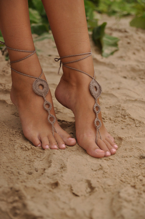 woven handmade brides crochet wear sandals beach rope sexy pool anklet hippy products yoga envy deal shoes barefoot