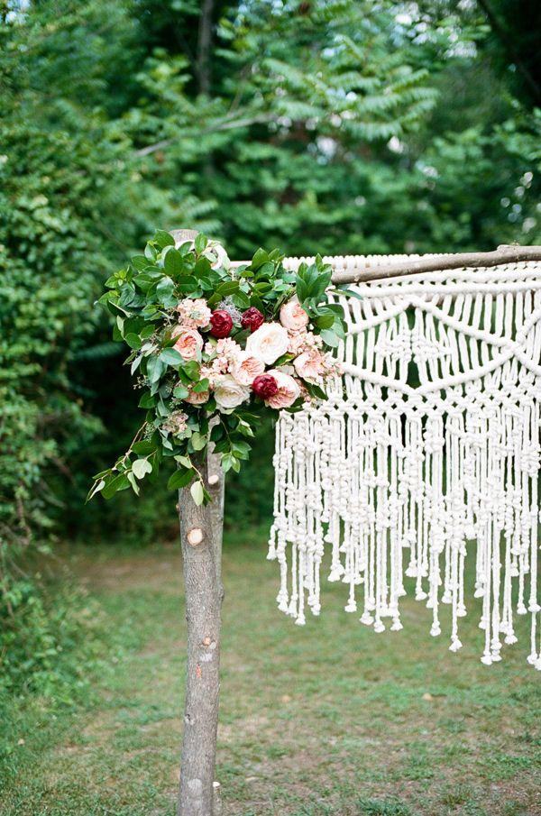 زفاف - Natural   Romantic Wedding With Macrame Details Ruffled
