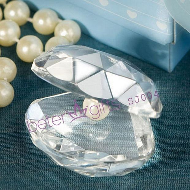 Wedding - Choice Crystal Clamshell Favors
