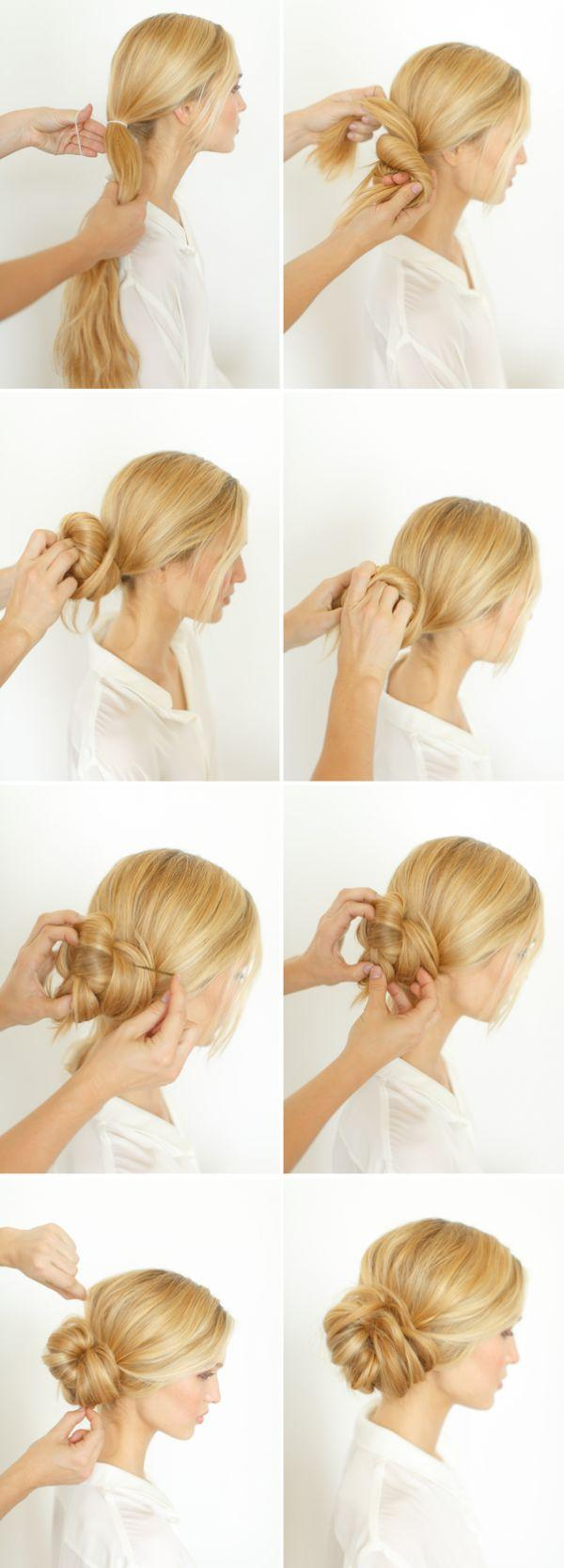 Wedding - 12 Easy DIY Hairstyles That Will Not Take You More Than 5 Minutes