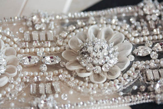 Mariage - Wedding Sash Belt -  MI 18 inches  (Made to Order)