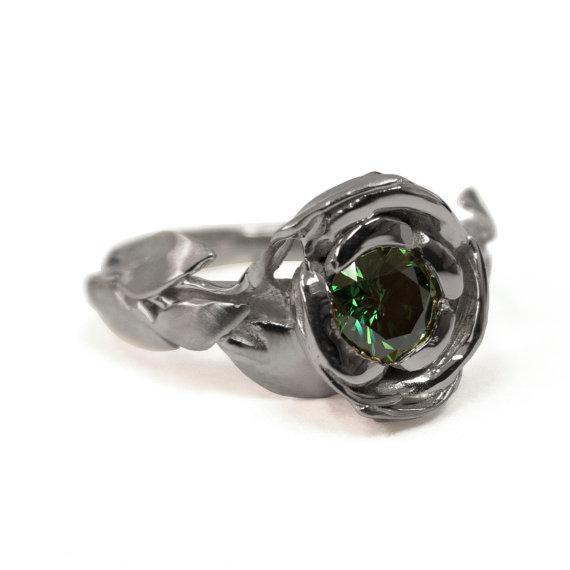 Rose Engagement Ring No1