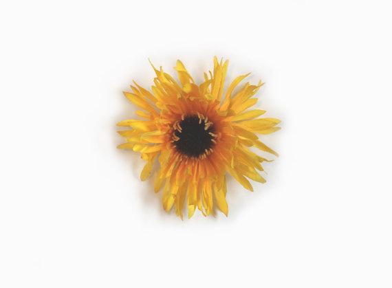 Свадьба - Dog Collar Flower - Mum, 2 Colors Available, Flower, Wedding Dog Clothes, Flower for Collar