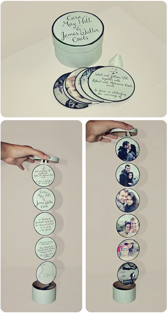 Свадьба - Very Cool Wedding Invitation .: JAMES   CARA