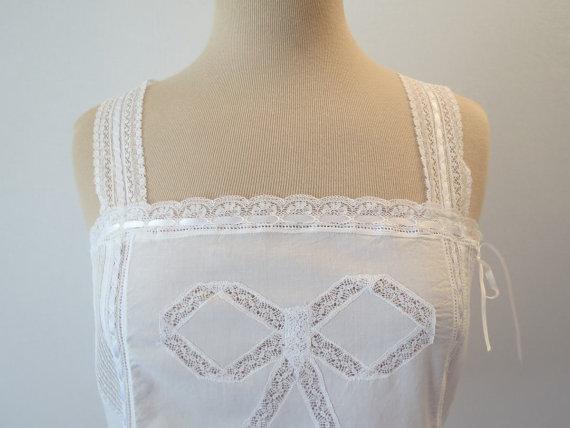 Свадьба - Edwardian Style Pintucked Camisole