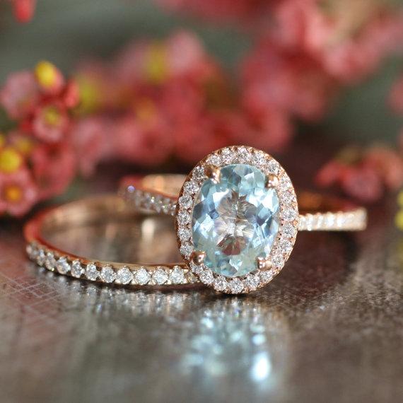 زفاف - Diamond Wedding Ring Set