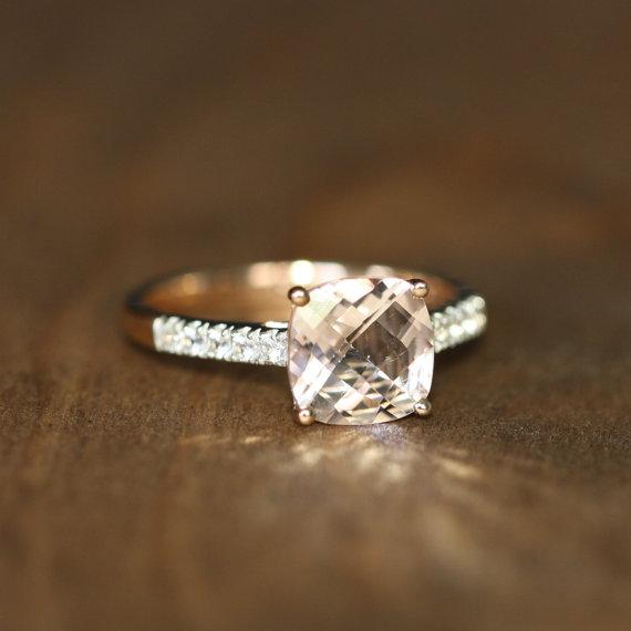 Cushion Engagement Rings  Overstockcom