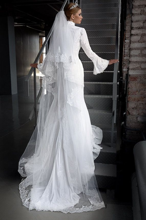 Wedding Dresses - Long Sleeves Wedding Dress #2231785 - Weddbook