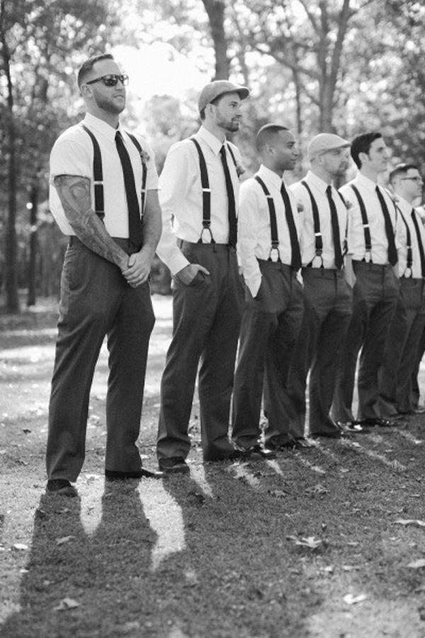 Hochzeit - Spotlight: Grooms And Groomsmen Style Trends