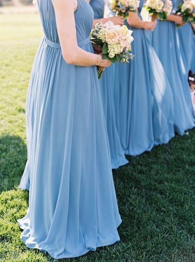 Wedding - French Blue & Peach Southern Farm Wedding