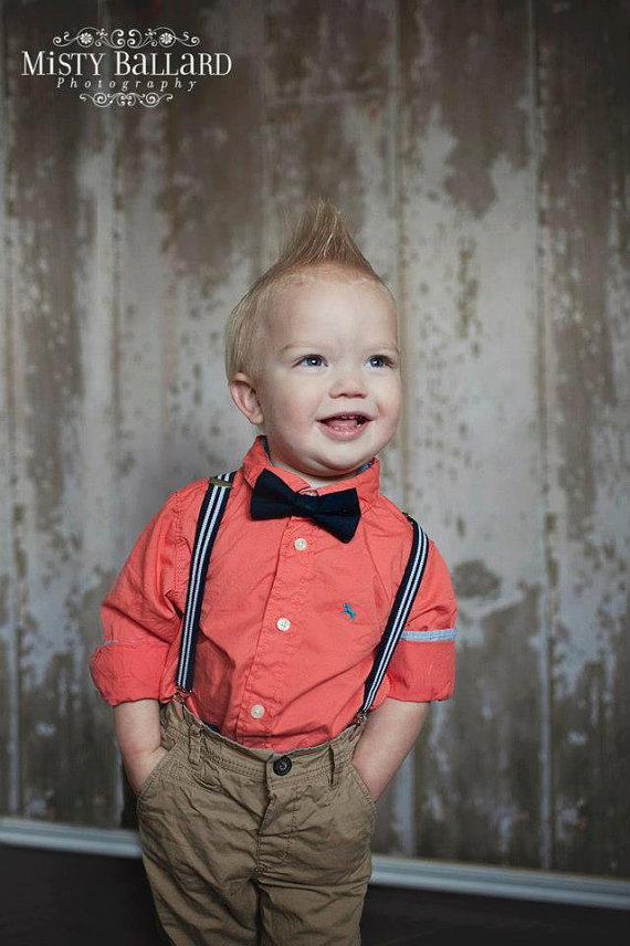 da5eb2bfe Navy Bow Tie Suspenders Set..Boys Bowtie..Baby Boy Suspenders..Kids ...