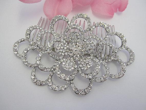 زفاف - wedding hair comb bridal hair jewelry wedding headpiece bridal hair accessory wedding hair jewelry bridal hair comb crystal bridal comb clip