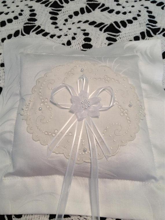 Mariage - Ring Bearer Pillow