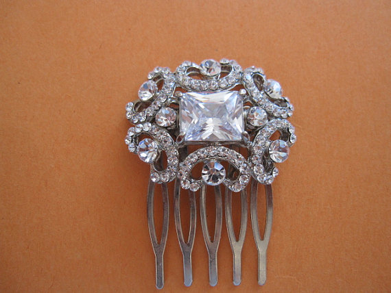 زفاف - wedding hair comb bridal hair accessory wedding accessory bridal hair comb wedding hair jewelry bridal headpiece wedding hair piece bridal